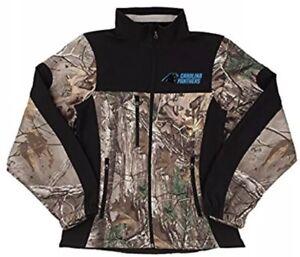 Dunbrooke Women's Carolina Panthers NFL Real Tree Xtra Camo Jacket Coat Small S
