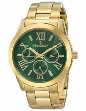 Peugeot Women's 7095GR Analog Display Japanese Quartz Gold Watch