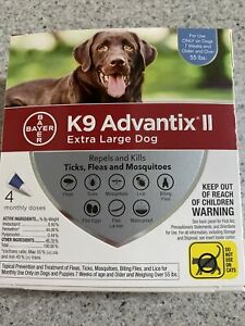 K9 Advantix II Extra Lg Dogs