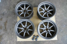 "JDM 15"" MX5 miata eunos civic integra Banana wheels rims rkr RS watanabe Style"