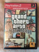 PS2 - GTA San Andreas - Playstation 2 - with Case, Manual, & Map(TESTED)