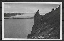 Iceland. Hagavatn Langjokull. Postcard 1927. (ref 020)