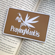 Metal Gear Solid Private Military Glow Praying Mantis Pvc Rubber Patch