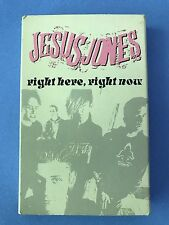 """Right Here, Right Now"" by Jesus Jones, 3 track Cassette Single, 1991, SBK, r&b"