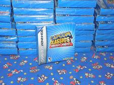 NES Nintendo Game Boy Advance CAPCOM CLASSICS MINIMIX NEW SEALED Gameboy STRIDER