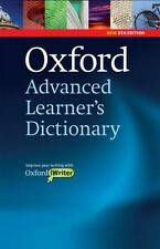 Oxford Advanced Learner's Dictionary Oxford Advanced Learner's Dictionary, 8th