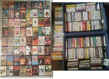 220 x Various Artist Cassette Tapes - Job Lot Bundle