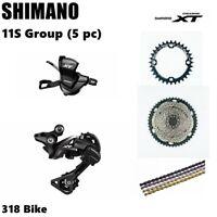Shimano Deore XT M8000 11S Drivetrain groupset MTB 11speed group 46/50/52T