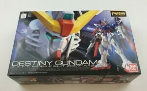 Bandai Destiny Gundam Partially Assembled As Is