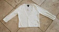 NWT White House Black Market ¾ Sleeve Cardigan Size M