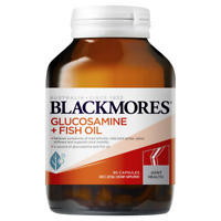 Blackmores Glucosamine + Fish Oil 90 Capsules for Mild Arthritis Healthy Joints