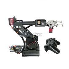 Assembled 6dof Robot Arm Clamp Set Educational Diy Kit With Large Torque Servo