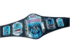 ROH World Television Wrestling Champion Belt Leather Zinc Plates Replica Adults
