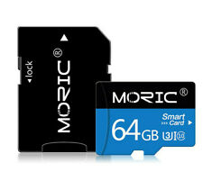 Micro SD Class 10 SDHC TF High Speed 64gb Memory Card   ( Free SD Adapter )