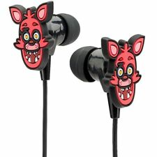 NEW FNAF Five Nights at Freddy's FOXY Earbuds & Cushions for MP3 iPod iPhone