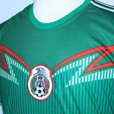 Gorgeous Mexico National Team Unitalla Green Soccer Jersey Men Sz M Futbol Shirt