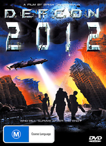 DEFCON 2012 - END OF THE WORLD DOOMSDAY DISASTER MOVIE DVD (NEW & SEALED)