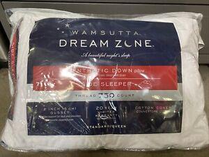 Wamsutta Dream Zone Synthetic Down side Sleeper Pillow 750-Thread