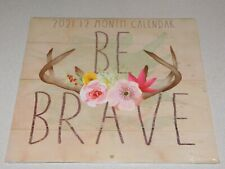 Be Brave Wall Calendar 2021 - New Sealed