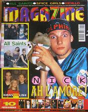 MB 9 1998 Hanson All Saints Spice Girls Ridillo Pearl Jam Los Locos Lady Diana