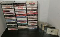 70s 80s Cassette Tape Lot of 60 Foreigner Bee Gees Manilow Genesis Elton John U2