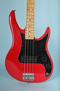Peavey Patriot USA Bass Guitar -  Red w/ Peavey Contour Case