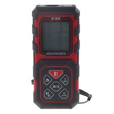 60m/196FT Handheld Digital Laser Point Distance Feet Meter Measure Range Finder