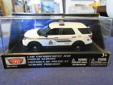 Ford Explorer Interceptor Utility RCMP Royal Canadian Mounted Police 1:43 Canada