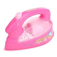Mini Electric Iron Light-up Simulation Kids Children Pretend Play Housework Toys