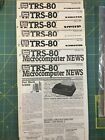 Radio Shack TRS-80 Computer - Vintage 1980's newsletters plus Vic Robot book picture
