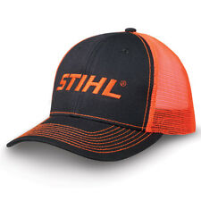 Officially Licensed Stihl Neon Orange Mesh Back Cap