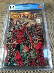 GOBBLEDYGOOK #1 : Mirage Studios 12/86 CGC 9.0 White pages; early TMNT, Eastman