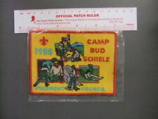Boy Scout Camp Bud Schiele 1988 Piedmont Council SAMPLE 5183AA