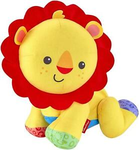 Fisher Price Crawling Action Lion Kids Toy Multicolour Soft and Safe