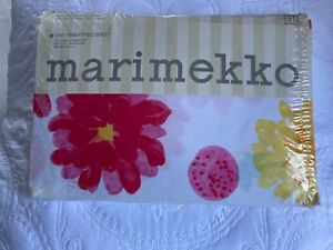 Marimekko Dahlia Twin fitted Sheet New Vintage