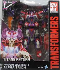 Transformers Generations Titans return Voyager SOVEREIGN &  ALPHA TRION neu/ovp