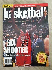 Beckett Basketball Monthly August 1998 Issue #97 Michael Jordan