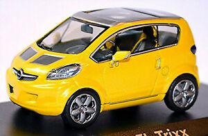 Opel Trixx 2004 Geneva Auto-Salon Yellow Metallic 1:43 Norev 360008