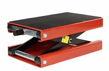 Dragway Tools® 1100 LBS Wide Deck Motorcycle Scissor Lift Jack Hoist Stand ATVs