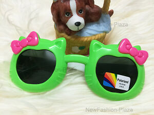 High Quality Butterfly Kids Polarized Sunglasses Junior (1-5 years) Green