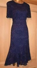 COAST NAVY LACE EVENING SPECIAL OCCASION PARTY DRESS SIZE 16/18