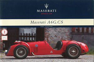 Maserati A6G. CS by Karl Ludvigsen - rare factory publication