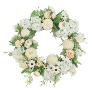 16'' Wreaths for Front Door, Artificial Christmas Wreath, Living Room Fireplace