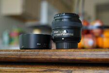 Nikon Nikkor AF-S 50 mm F/1.8G Lens - Black
