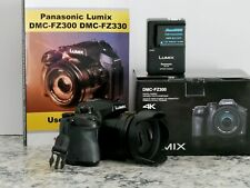 Panasonic LUMIX DMC-FZ300K Digital Bridge Camera