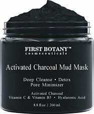 Charcoal Mud Mask 8.8 fl oz-Activated Charcoal-All Skin Types