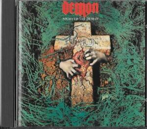 Demon Night Of The Demon (1981) Cd 1990 Sonic Records  ‎– SONIC CD 1 / Nwobhm