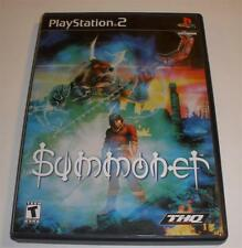 Ps2 Summoner Video game complete and nice condition