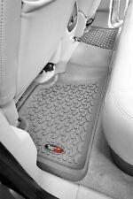 Gray Rear Floor Mats for Sierra Silverado  1999-2012 84951.10 Rugged Ridge
