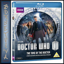 DOCTOR WHO - THE TIME OF THE DOCTOR + OTHER XMAS SPECIALS  *BRAND NEW  BLU-RAY *